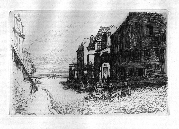 Rue Beethoven, n°9 - Paris (1906)