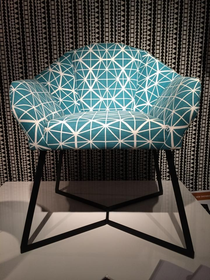 Indigi Designs geometric chair
