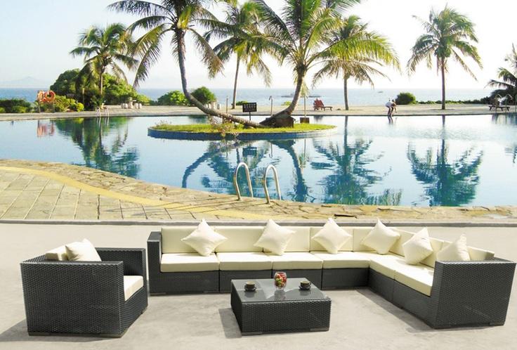 Model NO.:MS-6010  1*Left/Right sofa:70*80*70cm  4*Armless sofa:60*80*70cm  1*Corner sofa:80*80*70cm  1*Single sofa:80*80*70cm  1*Table:100*60*32cm  Material:PE RATTAN+ALU FRAME  FOB Price:$700  MOQ:5 Sets