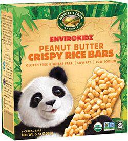 Panda Peanut Butter Crispy Rice Bar