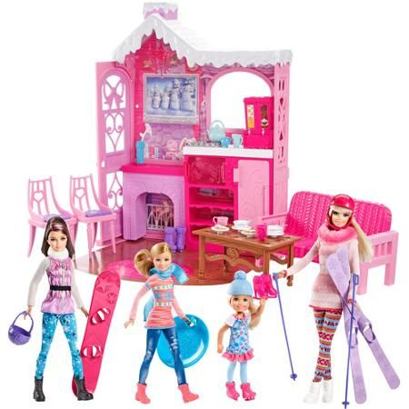 Barbie Toys at Walmart | Barbie Winter Family Build Up