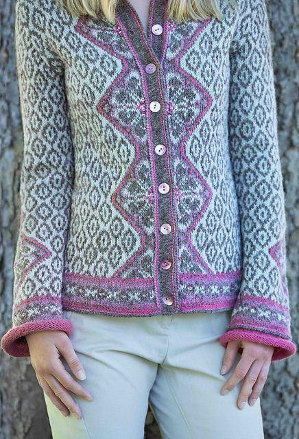 Ravelry: Lys Morgendis kofte pattern by Sidsel J. Høivik
