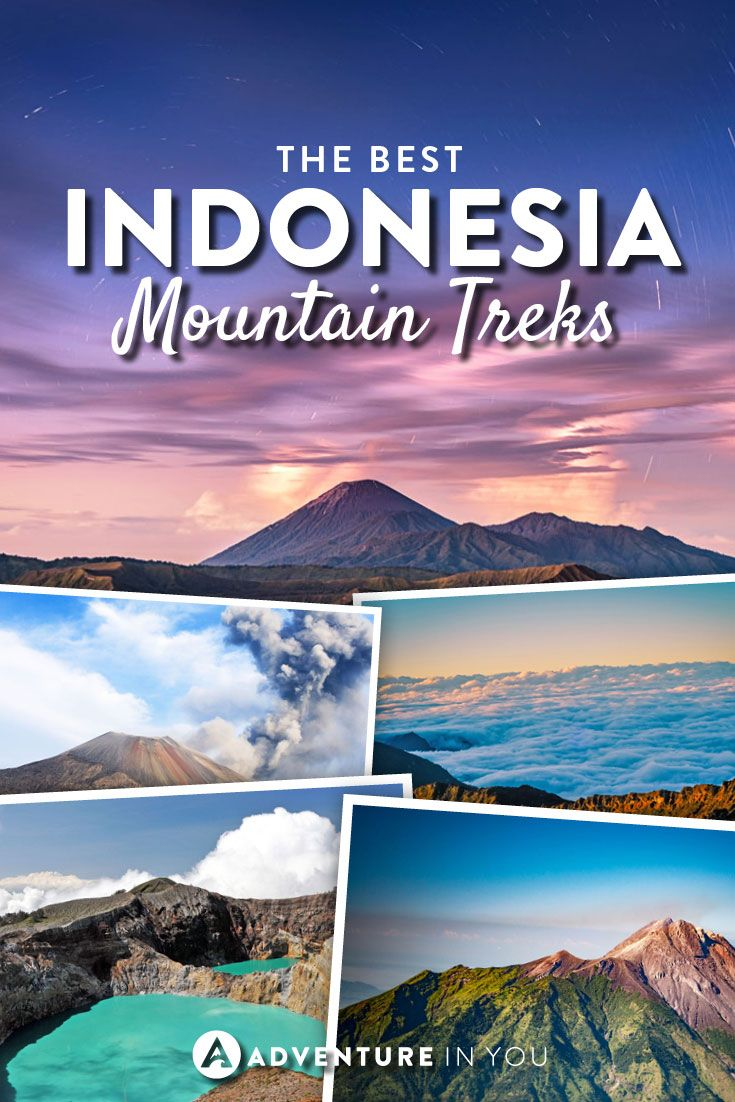 Indonesia Travel | Looking to go trekking while in Indonesia? Here are a few of the best mountains to summit while in the country.
