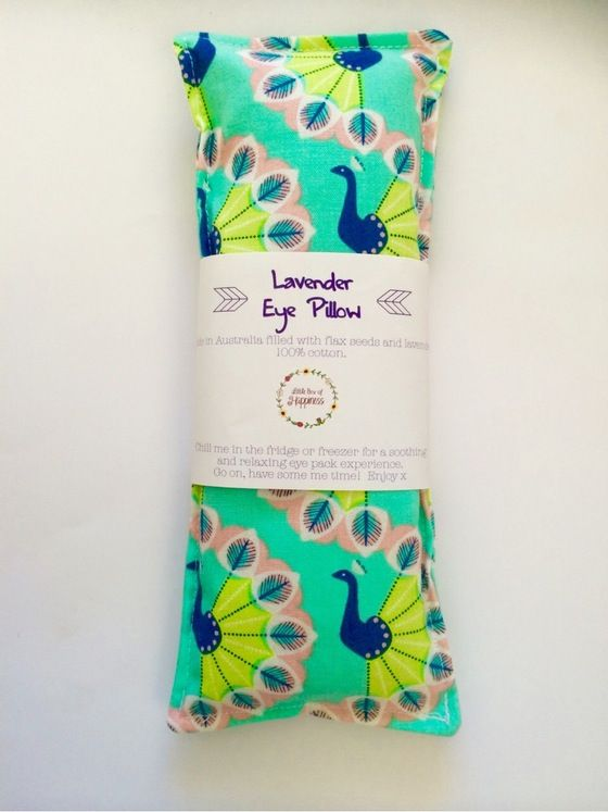 Image of Lavender and Flax seed Eye Pillows