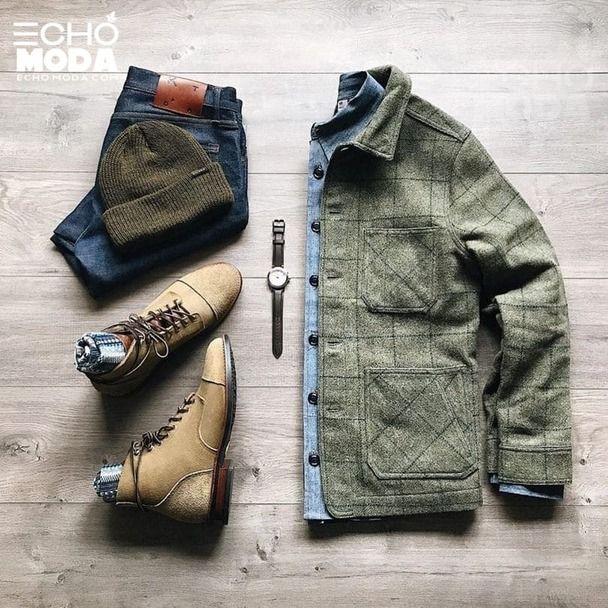 25 طقم ملابس رجاليه كاجوال منسق شتاء 2021 Mens Fashion Mens Fashion Casual Outfits Mens Fashion Casual