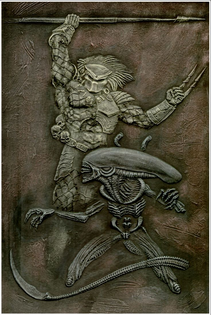 Alien vs. Predator -humawinghangin.deviantart.com