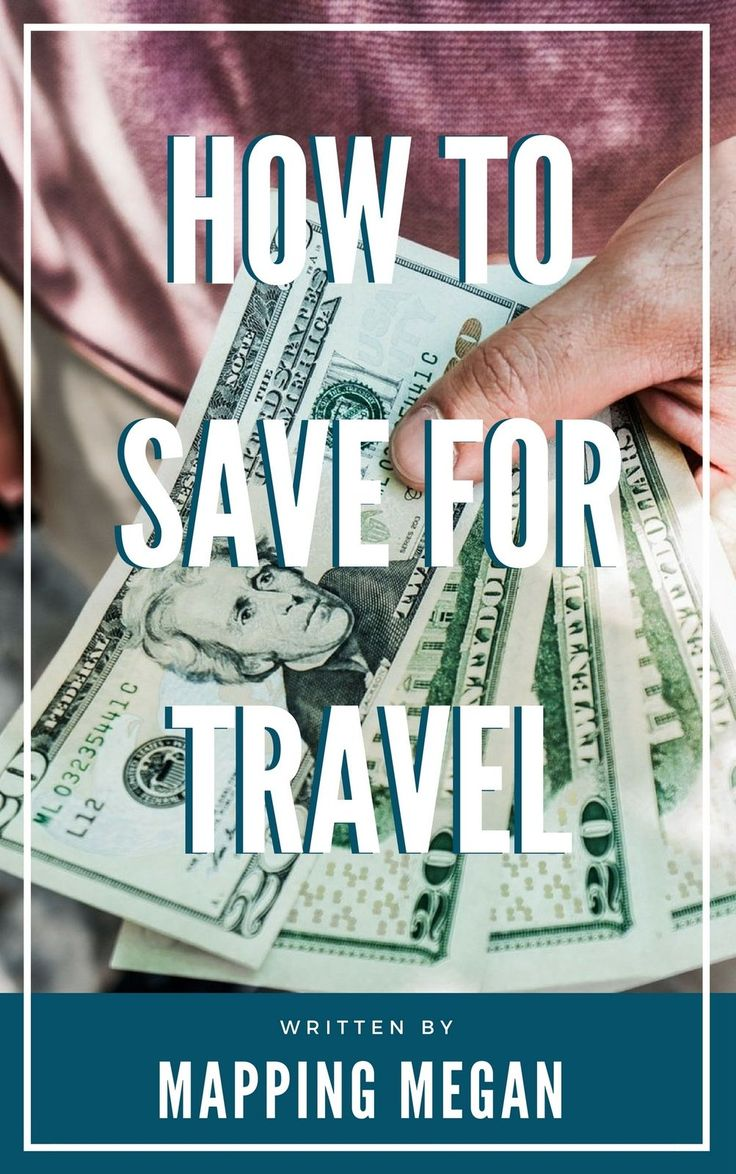 Saving #money can be daunting, but there are many ways to cut costs. With these strategies you might be amazed at how quickly you can build a #travel fund.