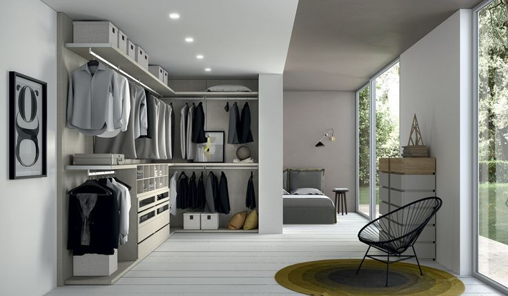 Take a walk in... Our best wardrobes have the proper Italian refinement.  #walkincloset #homedesign #modern #lifestyle #contemporary #wardrobes #dreamclosets by #DallAgnese #Italy