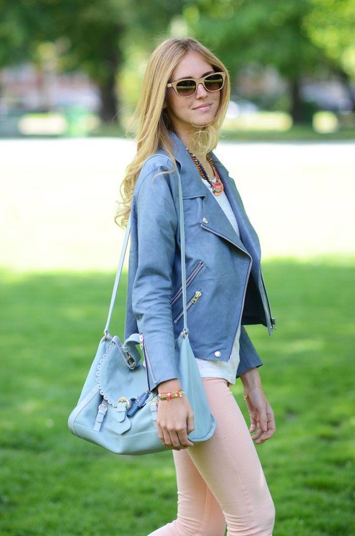 """La famosísima bloguera italiana Chiara Ferragni de """"The Blonde Salad"""" con unas exclusivas gafas de Bob Sdrunk."""