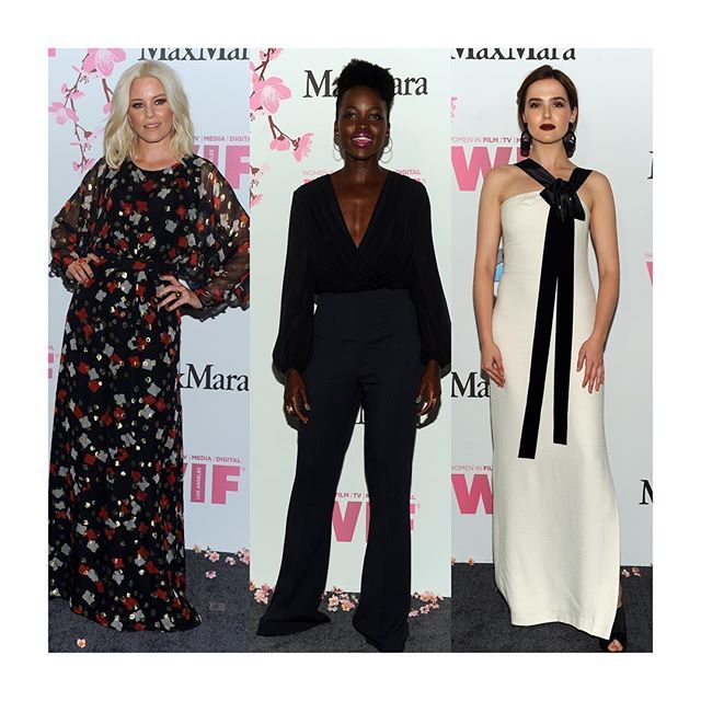 Вчера в Лос-Анджелесе прошла ежегодная премия The Women in Film Max Mara Face of the Future Awards за 2017 год. На фото: Элизабет Бэнкс Люпита Нионго и Зои Дойч которая получила главный приз от главы компании @maxmara Николы Марамотти. Чей образ трёх актрис вам нравится больше ? (все в #MaxMara)  #lofficielrussia  via L'OFFICIEL RUSSIA MAGAZINE INSTAGRAM - Fashion Campaigns  Haute Couture  Advertising  Editorial Photography  Magazine Cover Designs  Supermodels  Runway Models