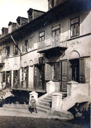 Apartments in the the Litzmannstadt Ghetto. The picture is the courtesy of Yad Vashem.