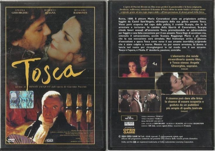 Tosca - Giacomo Puccini - Regia di Benoit Jacquot - 2001 - DVD
