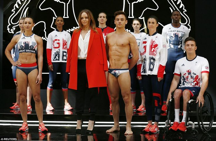 Unlike South Korea's kit for the games in Rio, Team GB's has not been treated with anti-mo...