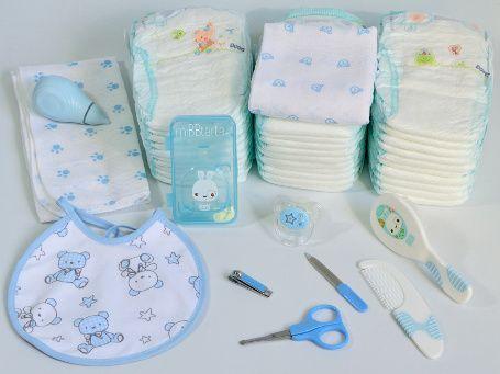 cestas de nacimiento y canastillas tren de pañales