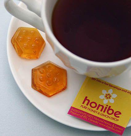 Cup 'o' tea with Honibe Honey Drops - Yum!