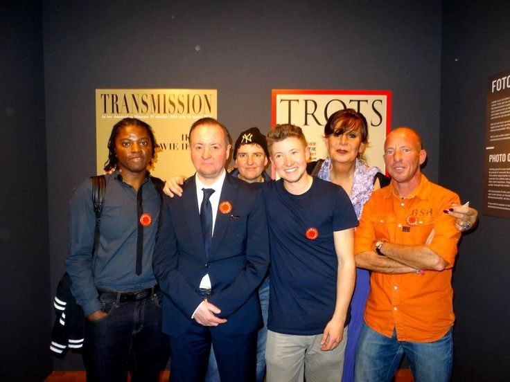 TransAmsterdam team at Amsterdam Museum opening Transmission expo