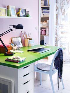 El mejor espacio, el que les permita ordenar todas sus cosas