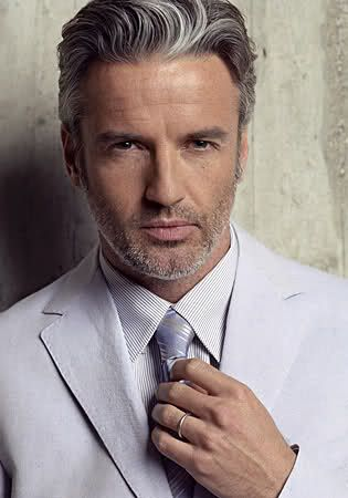 the Gorgeous T.R. PescodGrey Hair, Hot Daddy, Grey Suits, Men Hair, Fashion Center, Silver Foxes, Men Fashion, Silver Daddy, Hair Men