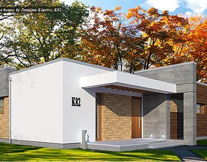 "Check out new work on my @Behance portfolio: ""modern house K82"" http://be.net/gallery/64365587/modern-house-K82"