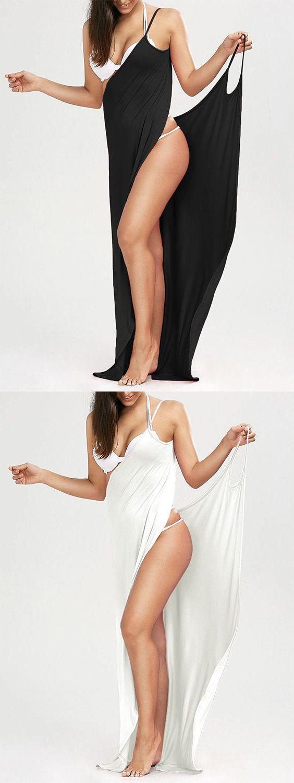 $9.49 Beach Maxi Wrap Slip Cover Up Dress