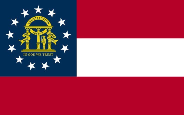 Flag of Georgia (U.S.A).