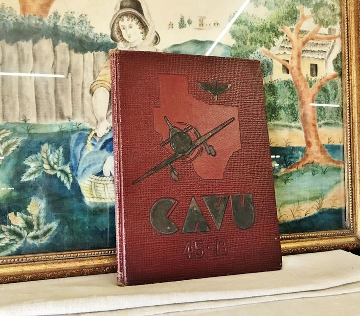 CaVU 43B YeaRBooK US ArMY fLIGHT TrAINING, AiR foRCE
