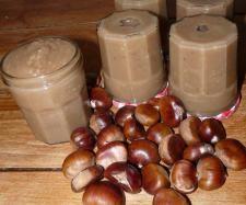 Crème de marrons 960 gramme de châtaignes, épluchées ou en bocal égoutées 480…