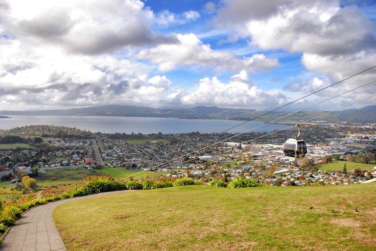 View / Rotorua / Go ludging / New Zealand