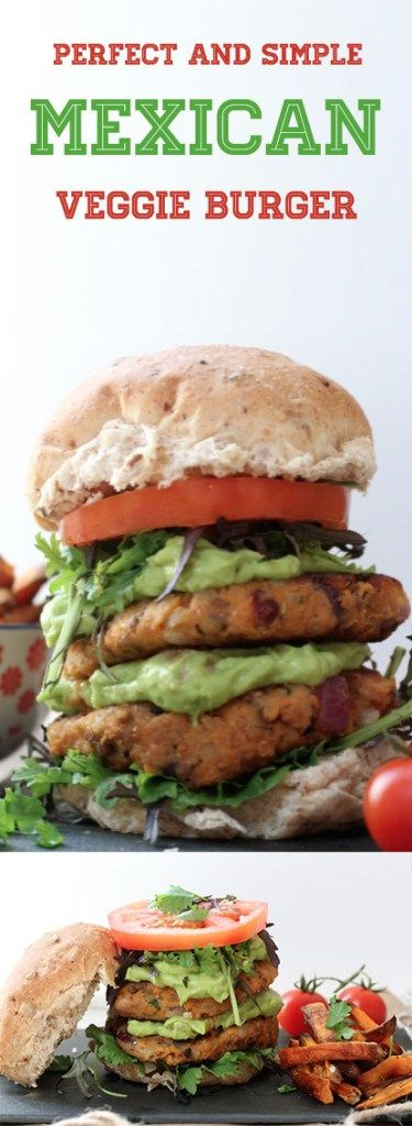 Delicious and simple to make mexican vegan and vegetarian burger gluten free and minimal effort