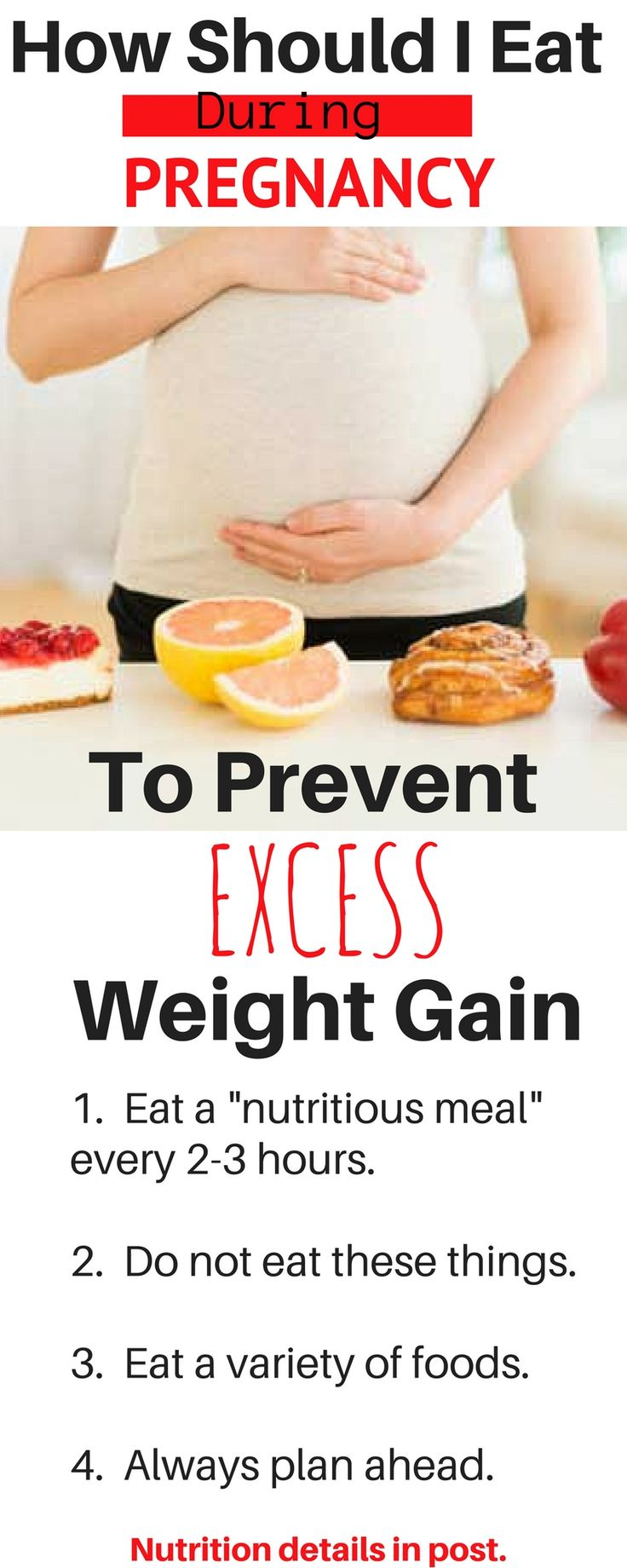 Pregnancy nutrition tips for a healthy pregnancy with no excess weight gain. Pregnancy workout and diet tips inside the post.