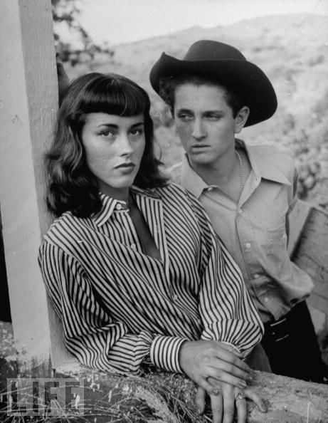 Dede and John Drew Barrymore - children of Dolores Costello and John Barrymore    C. 1949/1950