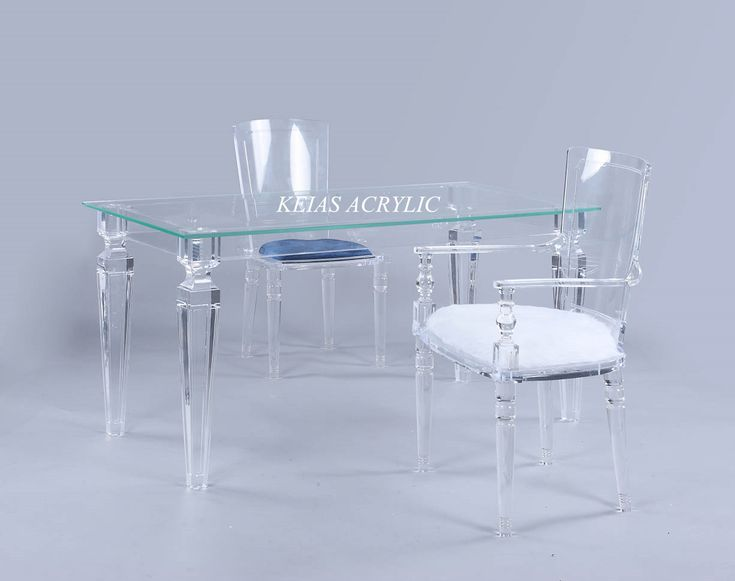 Acrylic Furniture  (table and chair) hebby_zypmma@ymail.com