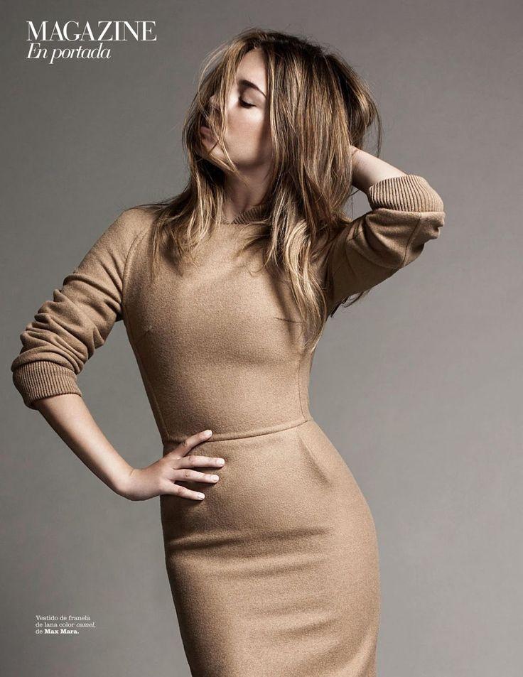 Blanca Suarez for Marie Claire Spain October 2015 - Max Mara