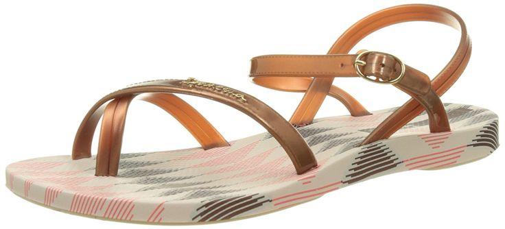 Ipanema Damen Fashion Sand IV Fem Knöchelriemen, Beige (Beige/Bronze), 35/36 EU: Amazon.de: Schuhe & Handtaschen