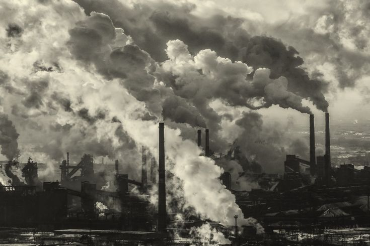 Пейзаж: Индустриальный пейзаж Магнитки