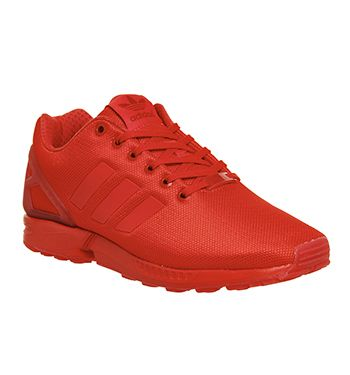 Adidas Zx Flux Red Red Red - Unisex Sports
