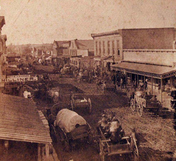 Van Buren, Arkansas sometime in the 1880s
