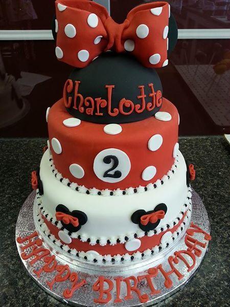 Cake Minnie Mouse Pinterest : Minnie Mouse Cake www.GGCupcake.com Disney Mickey ...