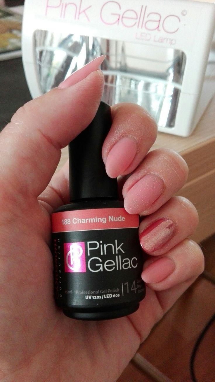 Pink gellac charming nude 188