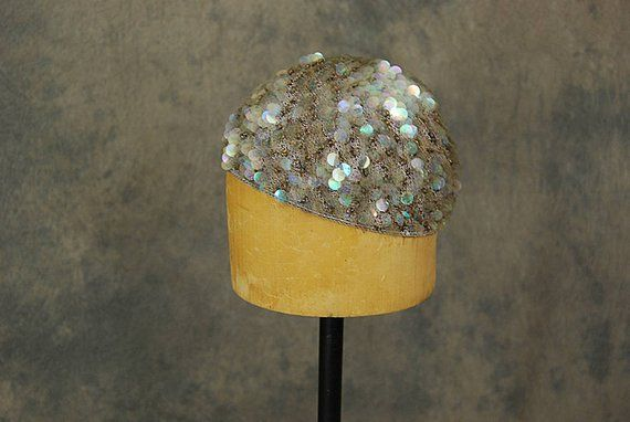 SOLD 1920s Sequinned Hat