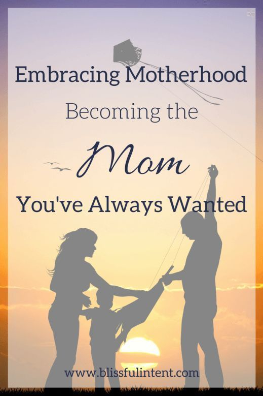 Motherhood is different for everyone. Sometimes though we aren't the mom we wanted to be when we first found out that we were pregnant. Here is how to embrace motherhood!