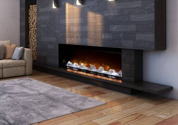 Best 25+ Contemporary electric fireplace ideas on ...