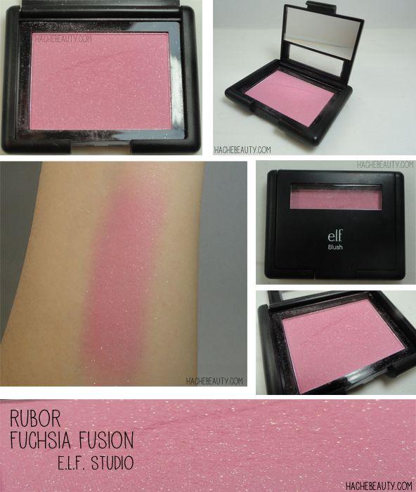 Review: Rubor Fuchsia Fusion de E.L.F. Cosmetics Más info en http://hachebeauty.com