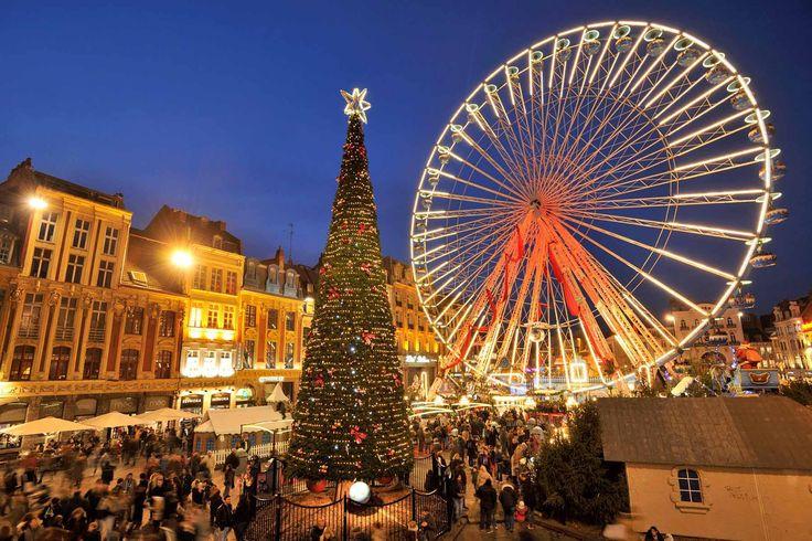 Mercadillo de Lille en Place Rihour - Los mejores mercadillos navideños de Europa