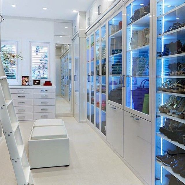 """Walk in closet #rodeoand5th #luxury #interiors"""