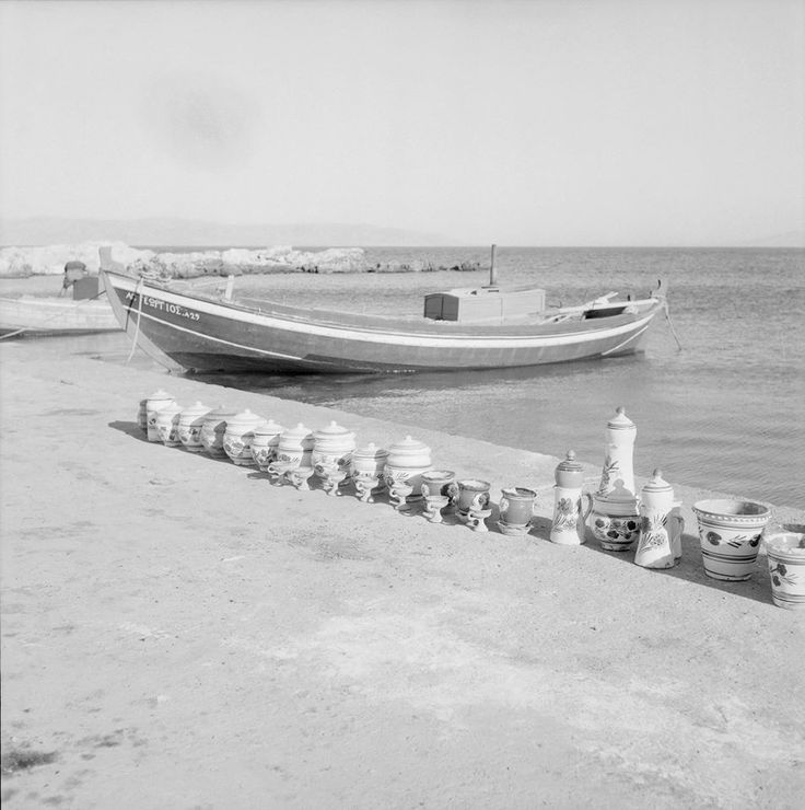 Paros island 1958 Photo by Zacharias Stellas Benaki Museum Photographic Archives