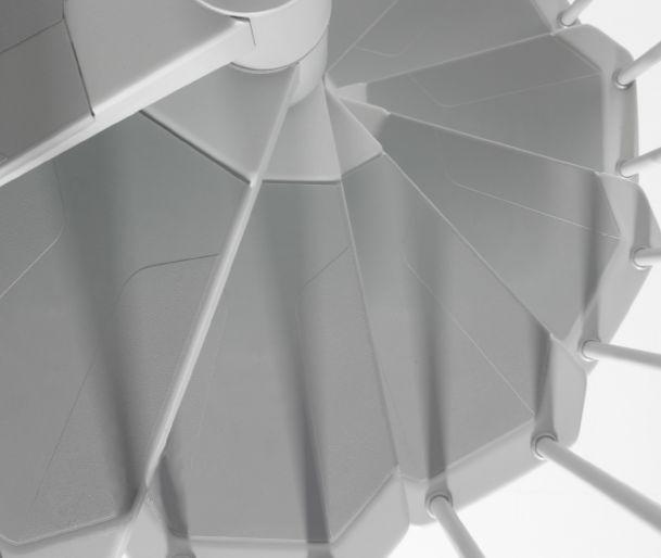 Best Fontanot Nice 3 Spiral Staircase Kit 1000Mm Diameter 640 x 480