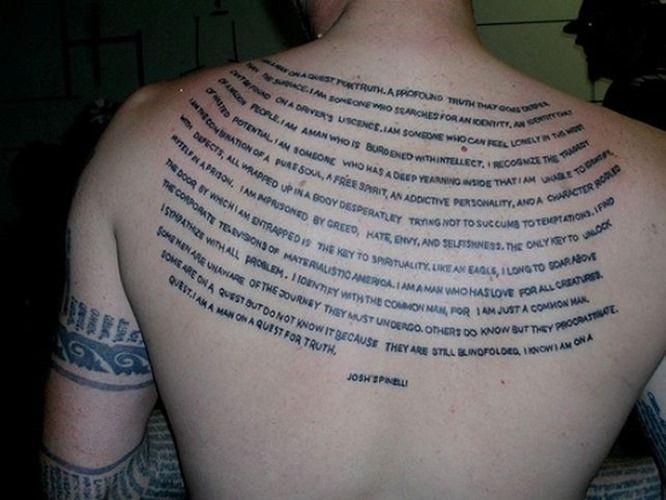 Pin On Back Tattoo