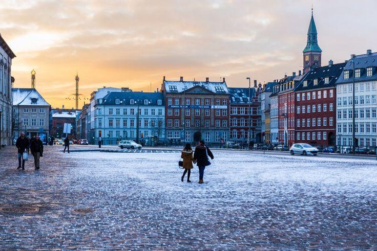Thomas Rousing - Winter images - Sunset