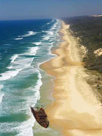 Fraser Island, Australia....we camped here a few times.... Magical place but you need a 4 wheel drive to get around
